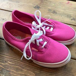 Vans Canvas Sneakers 5.5 (3.5)